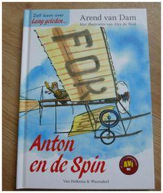 Leren Lezen AVI-boeken Arend van Dam Veilig goed Lang geleden speciaal leerlingen groep 3 en 4 Anton en de spin spannend…