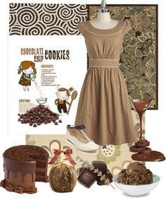 """Chocolate"" by majschick on Polyvore"