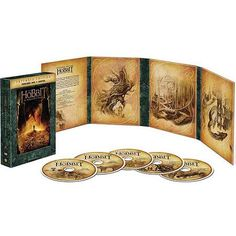 The Hobbit: The Desolation Of Smaug (Extended Edition) (Five Disc DVD + Digital With Ultraviolet) (Widescreen)