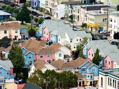 surprisingly liked bernal heights, seems sunnier, small down town with local stores and a nice park.