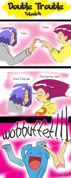 Jessie and James by Baka-M.  Haven't seen the show in ages but I still say the Pokemon names the way they used to be.