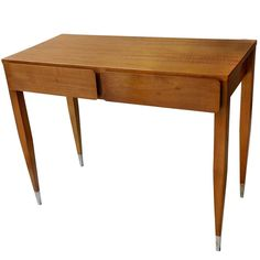Gio Ponti Console / Table   From a unique collection of antique and modern console tables at https://www.1stdibs.com/furniture/tables/console-tables/