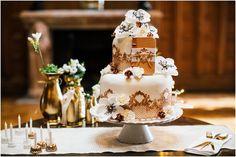 #Hochzeitstorte in quadratischer Form