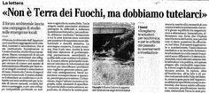 In relazione all'evento http://www.forumambientale.org/event-view/dallirpinia-alla-valle-del-sele-terre-da-avvelenare-o-salvaguardare/