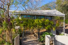 Galería de casa jardín / LSD Architects - 1 Micro House, Second Floor, Exterior Design, Sustainability, Pergola, Home And Garden, Outdoor Structures, Landscape, Gallery