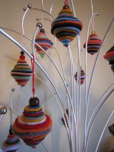 Handmade felt ornament