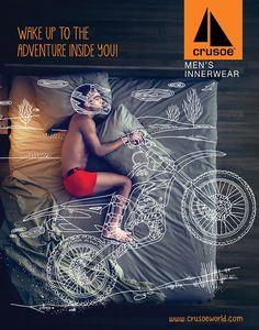 Client: Crusoe - Men's InnerwearTask: Brand Campaign - 2014Agency: Black Swan Life