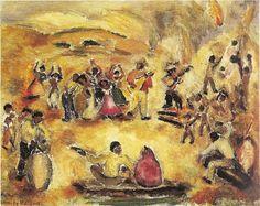 Samba  - Anita Malfatti e suas principais pinturas ~ Pintora brasileira
