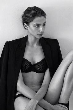 d-o-l-c-e: Beautiful Alexandra Agoston shot by Chris Colls
