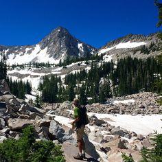 Summer hiking near Alta.