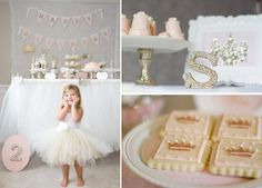 Pink Princess Tea Party - Kara's Party Ideas - The Place for All Things Party