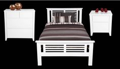 New York Bedroom Suite & Furniture Available from Beds N Dreams Australia