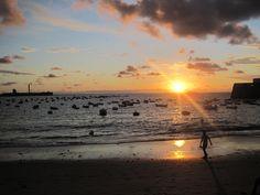Sunset in Cadiz