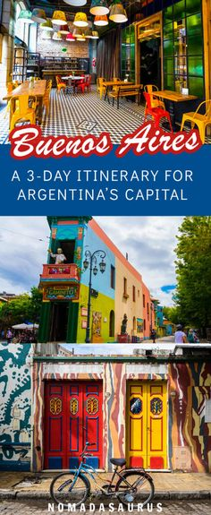 Planning a trip to Buenos Aires, Argentina? Here are all the things to do in 3 days from Recoleta to La Boca and more! #buenosaires #argentina