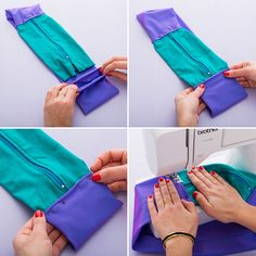 DIY a running belt for an easy sewing project perfect for beginners.