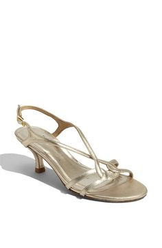 Stuart Weitzman 'Reversal' Sandal available at #Nordstrom ... could work