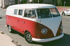 old skool vw bus