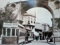 Καμάρα 1916 Old Photos, Vintage Photos, Thessaloniki, Urban Photography, Macedonia, Nymph, Public Transport, Greece, The Past