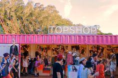 Top Shop Pop Up Store Australia