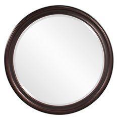 Bathroom Mirrors Oil Rubbed Bronze cooper classics cordova round mirror | round mirrors, industrial