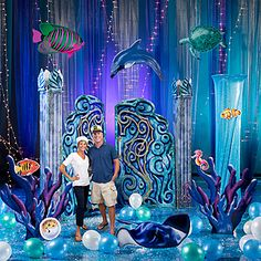 Deluxe Set the Stage Under the Sea Party Kit $499.99 Shindigz.com (Mrs. B)