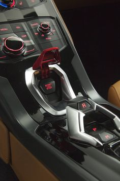 Lamborghini Huracan- the most kick ass start engine button in a car EVER!