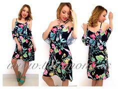 HELLO CHICAS, VIERNES YA  Que os parece este vestido, para esta mañana ?  Es súper #fresquito #comodo y con estampado #floral .. Que más se puede pedir ?!  VESTIDO AYLEN 19,95€  Cómpralo en  www.totamona.es  #visitanos #vierness #hueleafindesemana #pinedo #valencia #totamona #moda #lowcost