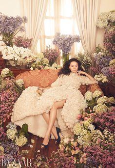 Ngo Thanh Van | Zhang Jingna | Harper's Bazaar Vietnam October 2012 | Nothing ButFlowers - 8 Style | Sensuality Living - Anne of Carversville Women's News