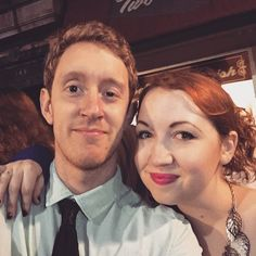 """Me and @oliviathegist at #simplywinefest. Fun night!"""