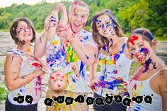 PAINT WARS family fun & creative photoshoot. Check out more of this album at www.facebook.com/photographybyHK