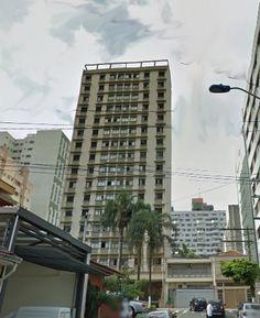 Vista frontal do Edificio diTHIENE, um dos mais antigos e charmosos da cidade de São Caetano do Sul,SP,Brasil; Foi residência do casal Campanella (Anacleto e Aracy). Anacleto Campanella foi prefeito por duas vezes de SCS.