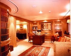 Images of Luxury Yacht Interior