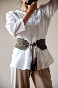tales of love and chocolate: How to make a tassel belt