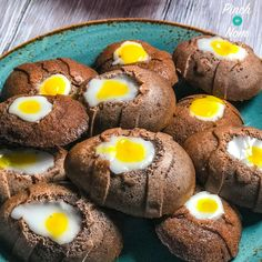 Low Syn Chocolate Creme Egg Cakes | Slimming World