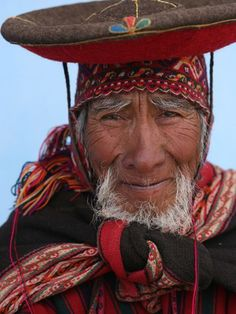Faces of Peru.  National Geographic