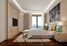Interior Door, Interior Design, Tv Feature Wall, Four Rooms, Personal Space, Modern Luxury, Built Ins, Bed Room, Ceilings
