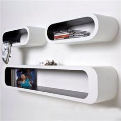 Półki Lounge Cubes oval, kare design