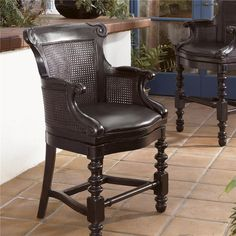 Kingstown Dunkirk Swivel Counter Stool by Tommy Bahama Home