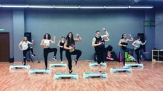Mega Mix 58 - Tu Mi Medicina - Andy Quintero - Zumba ® Step Choreo by Ni...
