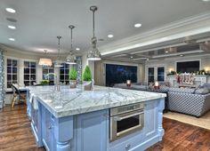 Kitchen Island Design. Kitchen island Design Ideas. #KitchenIsland #KitchenDesign  Spinnaker Development.