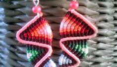 forget-me-knot Macrame Earrings, Macrame Jewelry, Knots, Forget, Bracelets, Ideas, Bangles, Knot, Bracelet