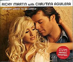 """For Sale - Ricky Martin Nobody Wants To Be Lonely UK  CD single (CD5 / 5"""") - See this and 250,000 other rare & vintage vinyl records, singles, LPs & CDs at http://991.com"""