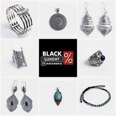 🎈🎈🎈Ultima zi de reduceri!🎈🎈🎈   Bijuteriile tale preferate cu DISCOUNT de până la 40%! 💰💰💰 Crochet Earrings, Events, Black, Jewelry, Fashion, Moda, Jewlery, Black People, Jewerly