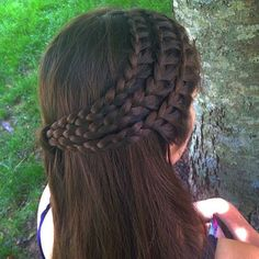 """Braid by @braidsbygabby"" Photo taken by @yourbraids on Instagram, pinned via the InstaPin iOS App! http://www.instapinapp.com (07/24/2015)"