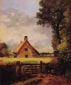 A Cottage in a Cornfield  John Constable 1833