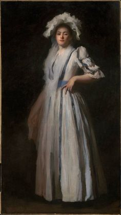 """""""My Sister Lydia by Edmund Charles Tarbell (1888) """" Museum of Fine Arts, Boston"""