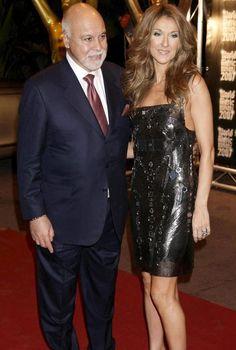 Celine Dion and husband René Angelil's