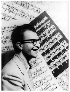 Dave Brubeck (1920-2012) - American jazz pianist and composer. Photo © Carl Van Vechten