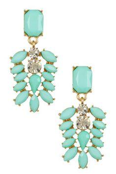 t+j Designs Mint Dangle Earrings on HauteLook