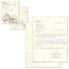 [John Lennon] Yoko Ono - The Beatles - Authentic Autographed Letter (LS) - 1979